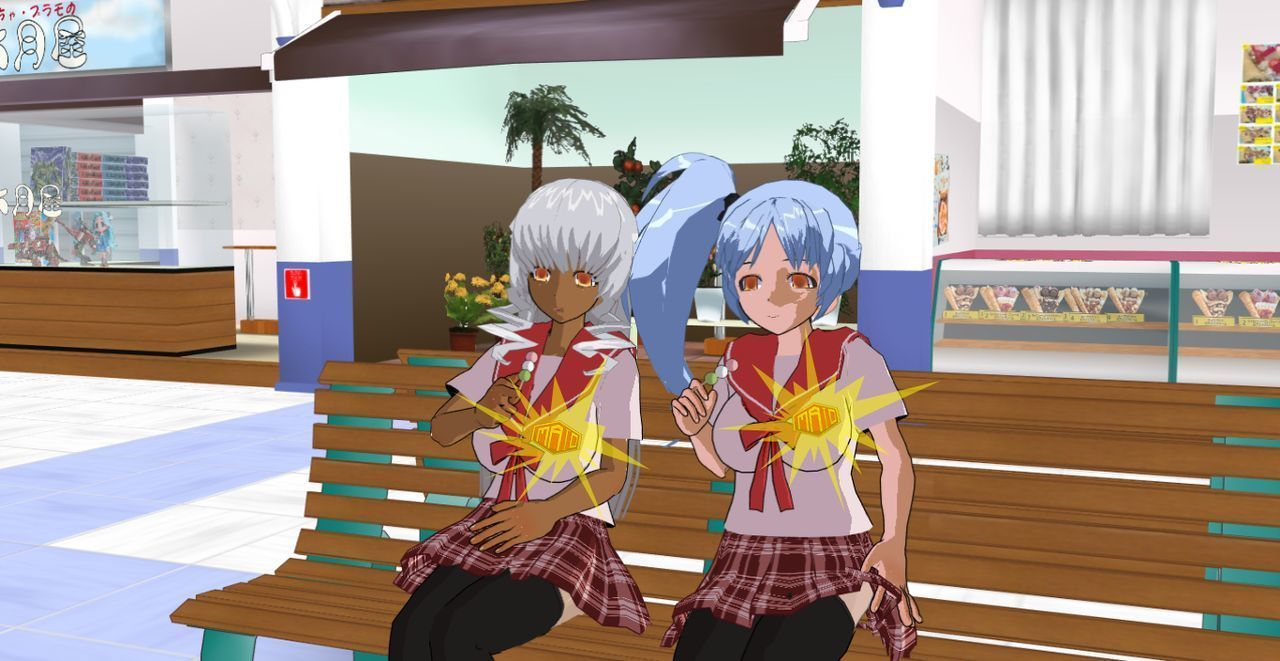 (3DCG) New School Club - part 4