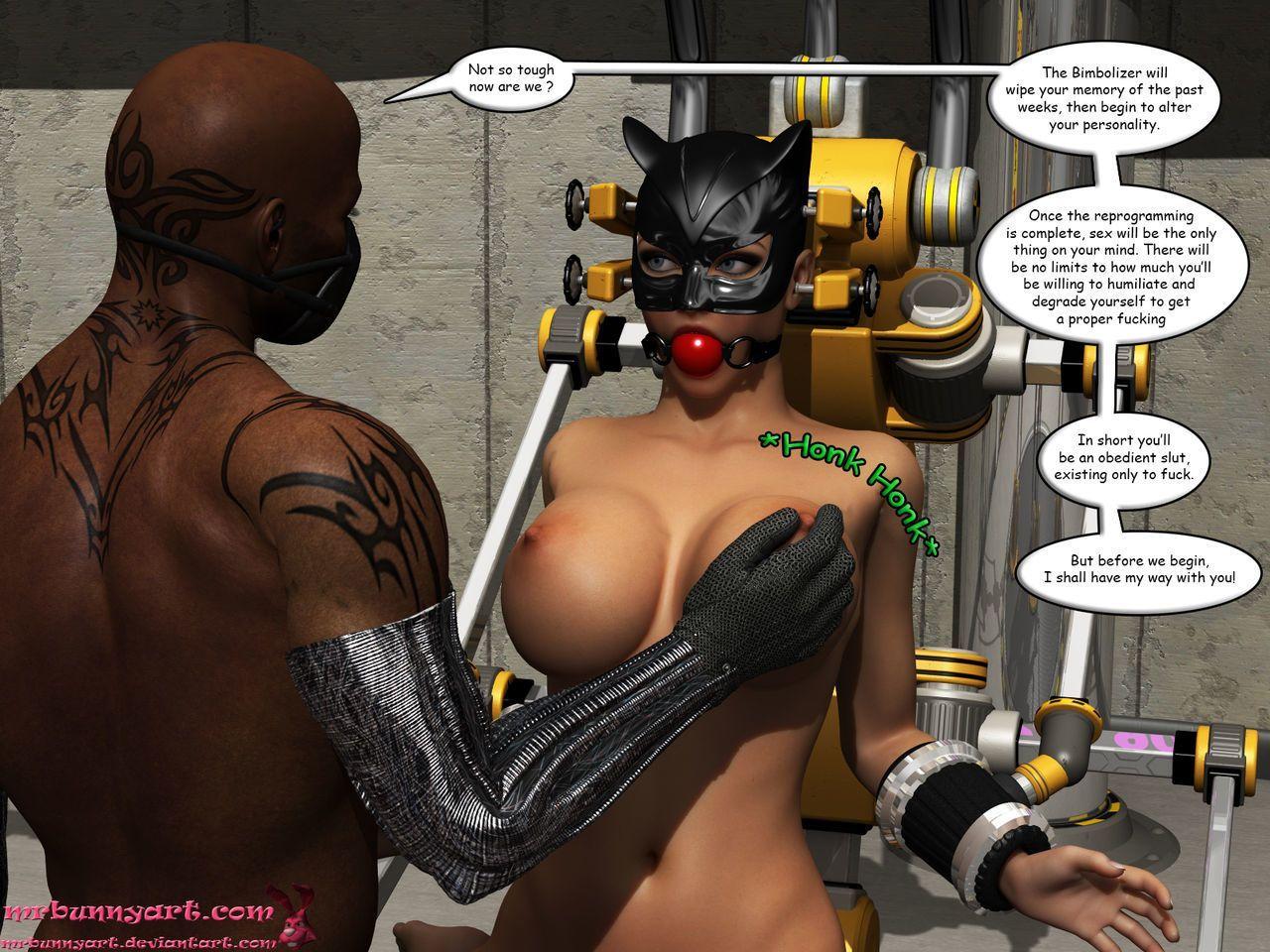 [MrBunnyArt] Cain vs Catwoman - part 3