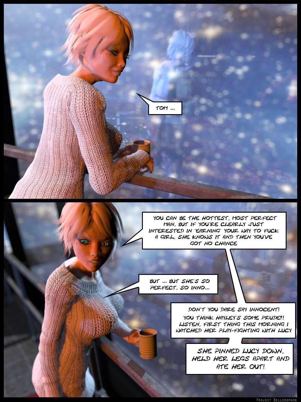 Project Bellerophon Comic 19: The Quiet Ones
