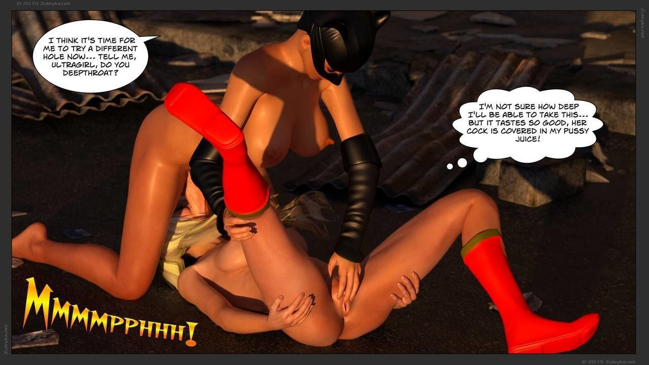 [3D] Zuleyka - Ultragirl Vs Futakitty - part 2