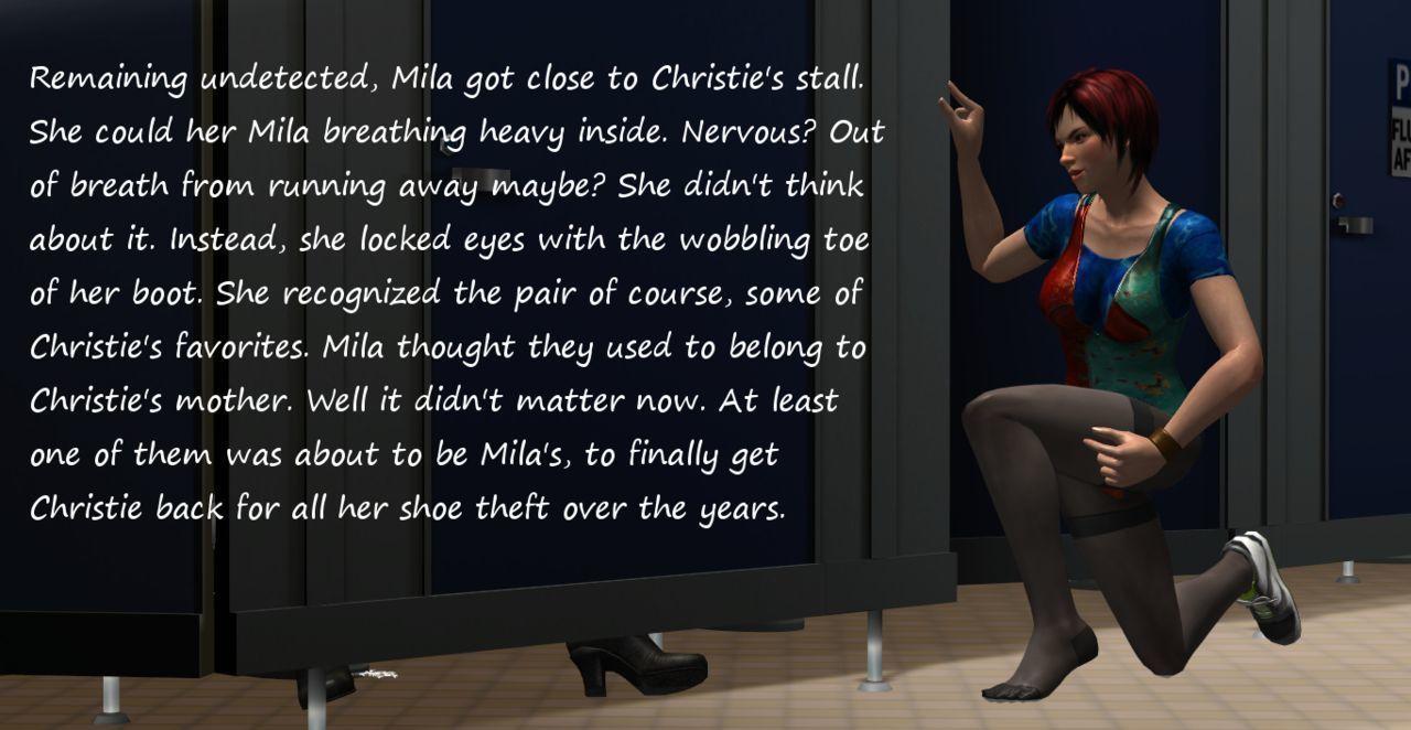 FetishFuta Vol. 1: Shoe Fetish at the Gym