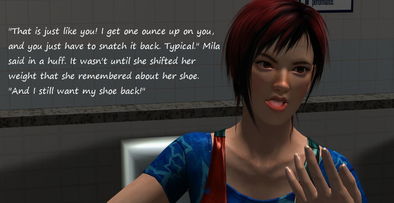 FetishFuta Vol. 1: Shoe Fetish at the Gym - part 3