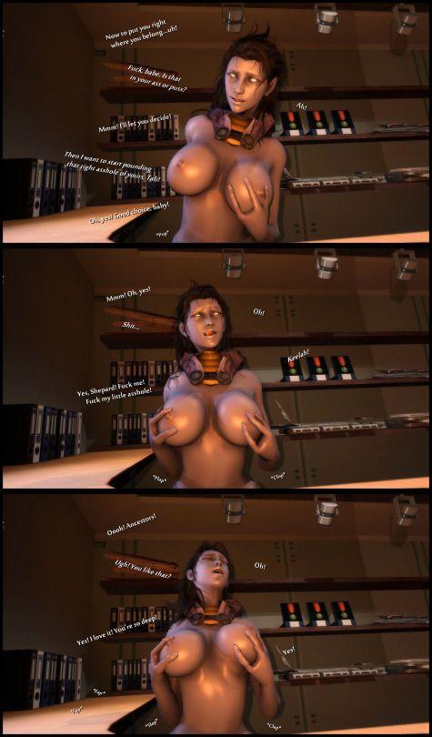 [foab30] Size Queen (Mass Effect) - part 3