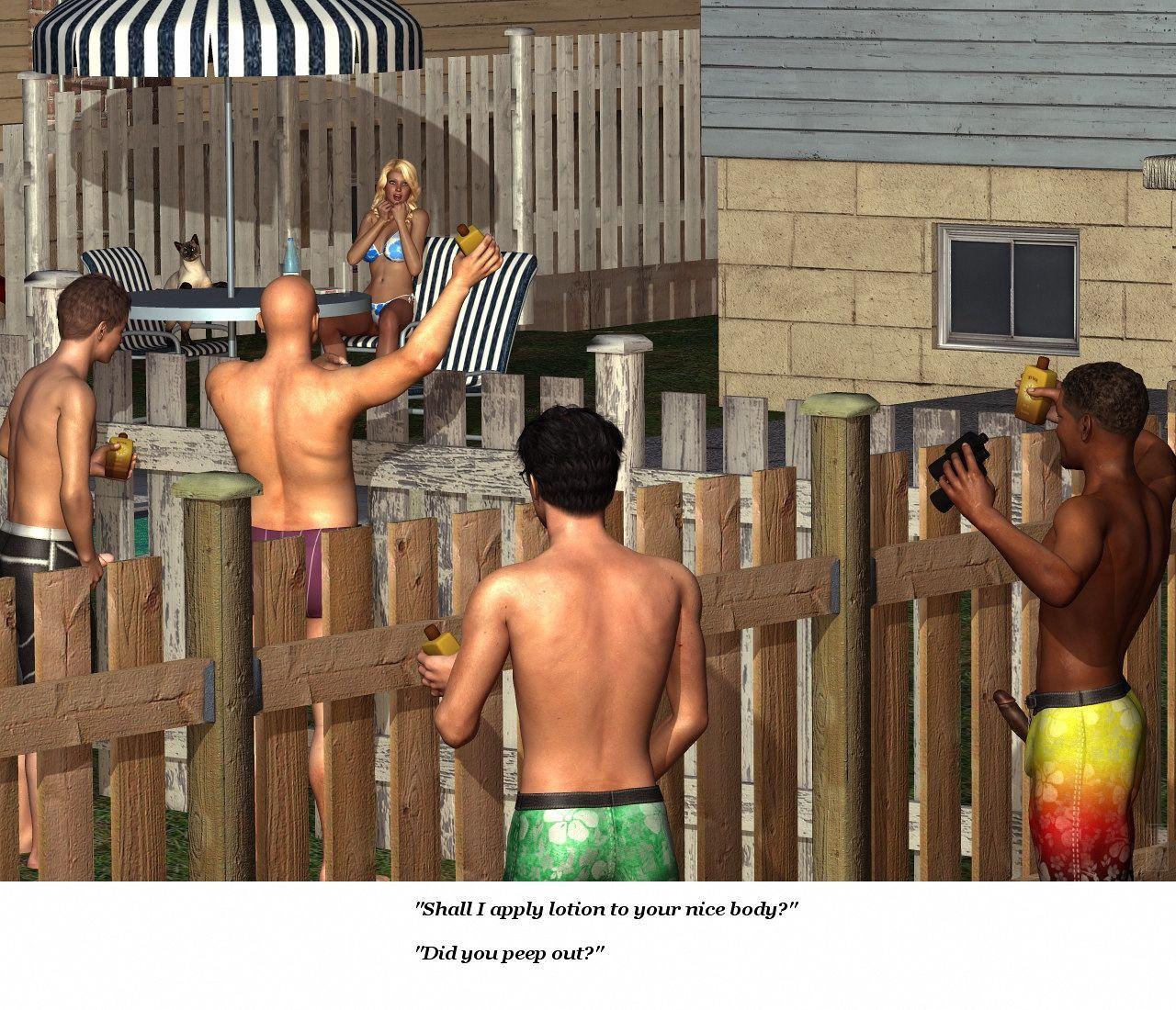 [Kunimasa] - The Neighbor's Pool