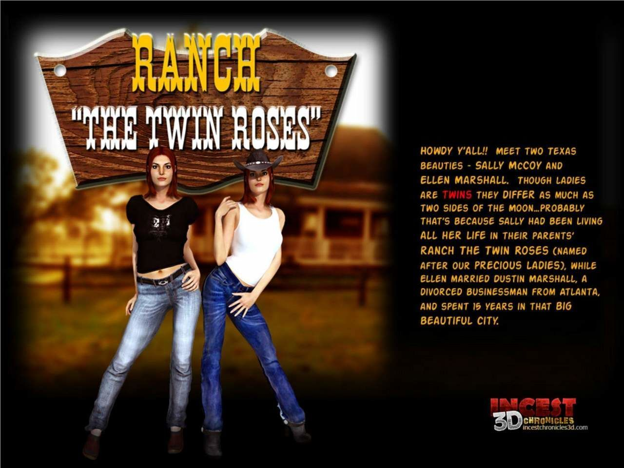 Ranch - The Twin Roses 1-5