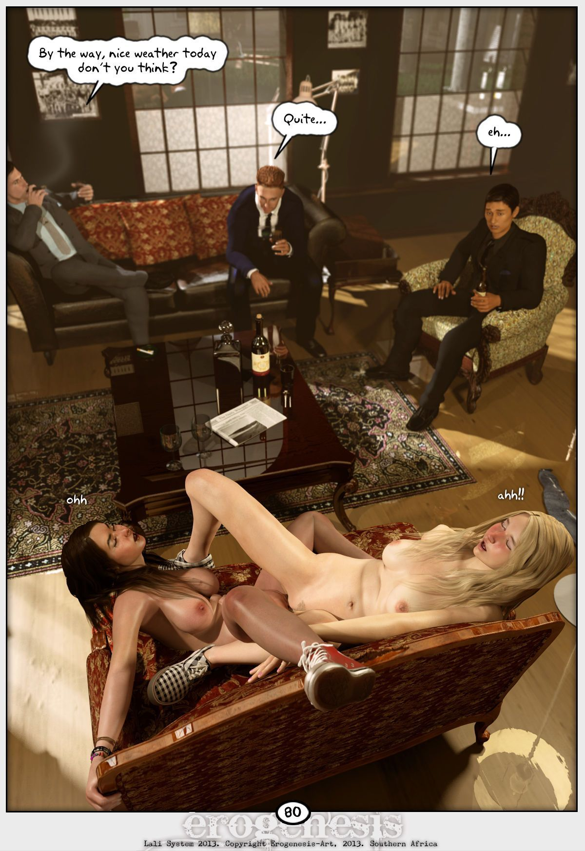 [Erogenesis] Lali Lite 1 - The Gentlemen\'s Club - part 5