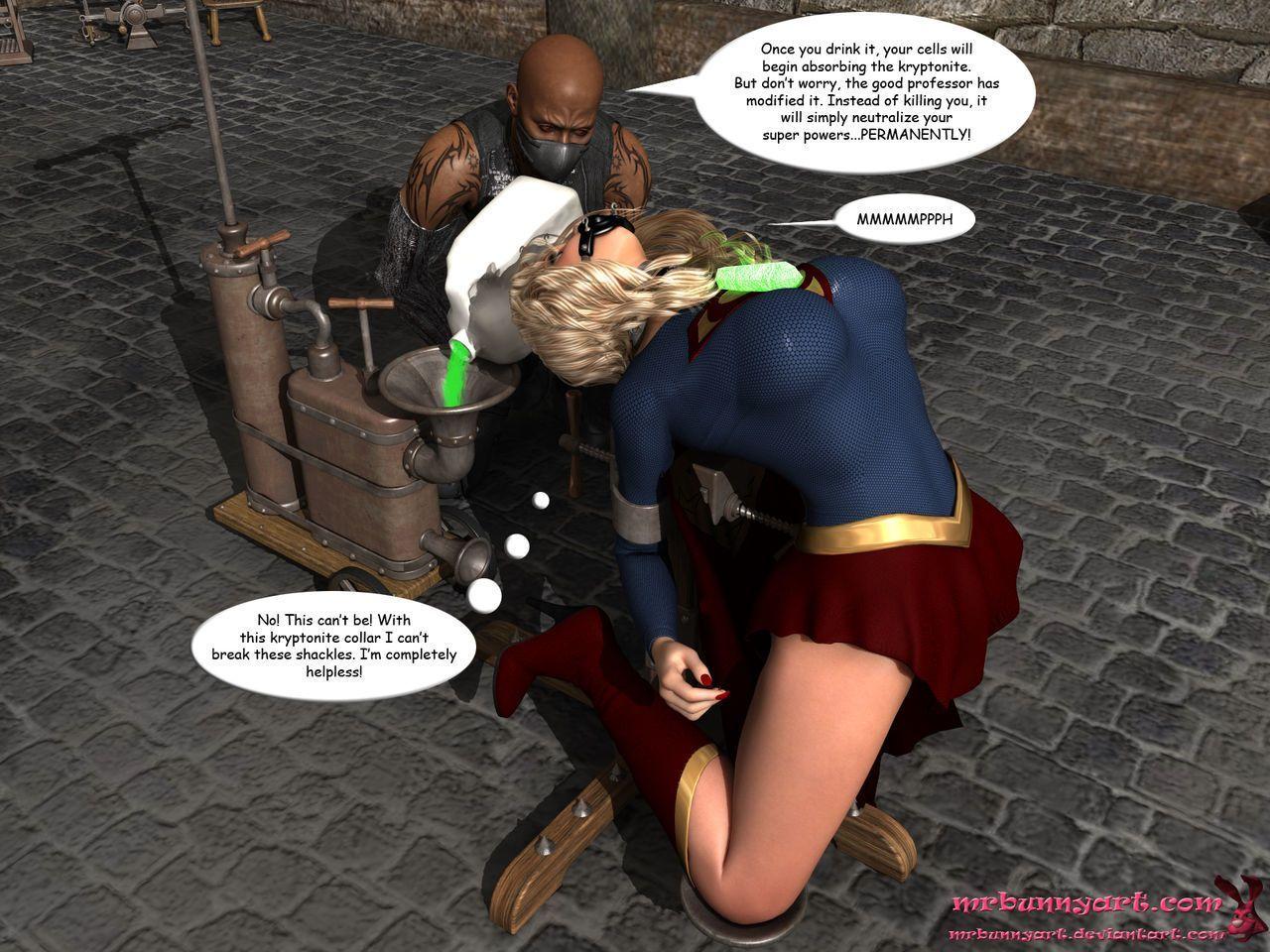 [MrBunnyArt] supergirl vs cain (supergirl) [English] - part 2