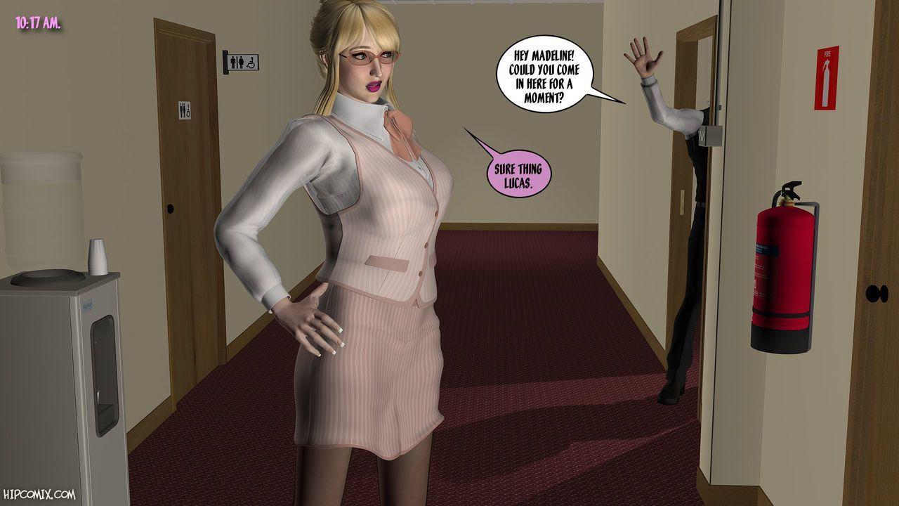 [Foxy Komix] Ravished Receptionist 1-6