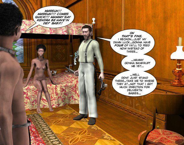 Chastity Belt of Black Virgin 3D