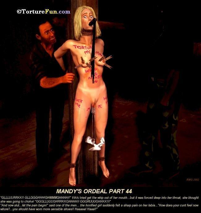 TortureFun - Mandy\'s ordeal - part 2