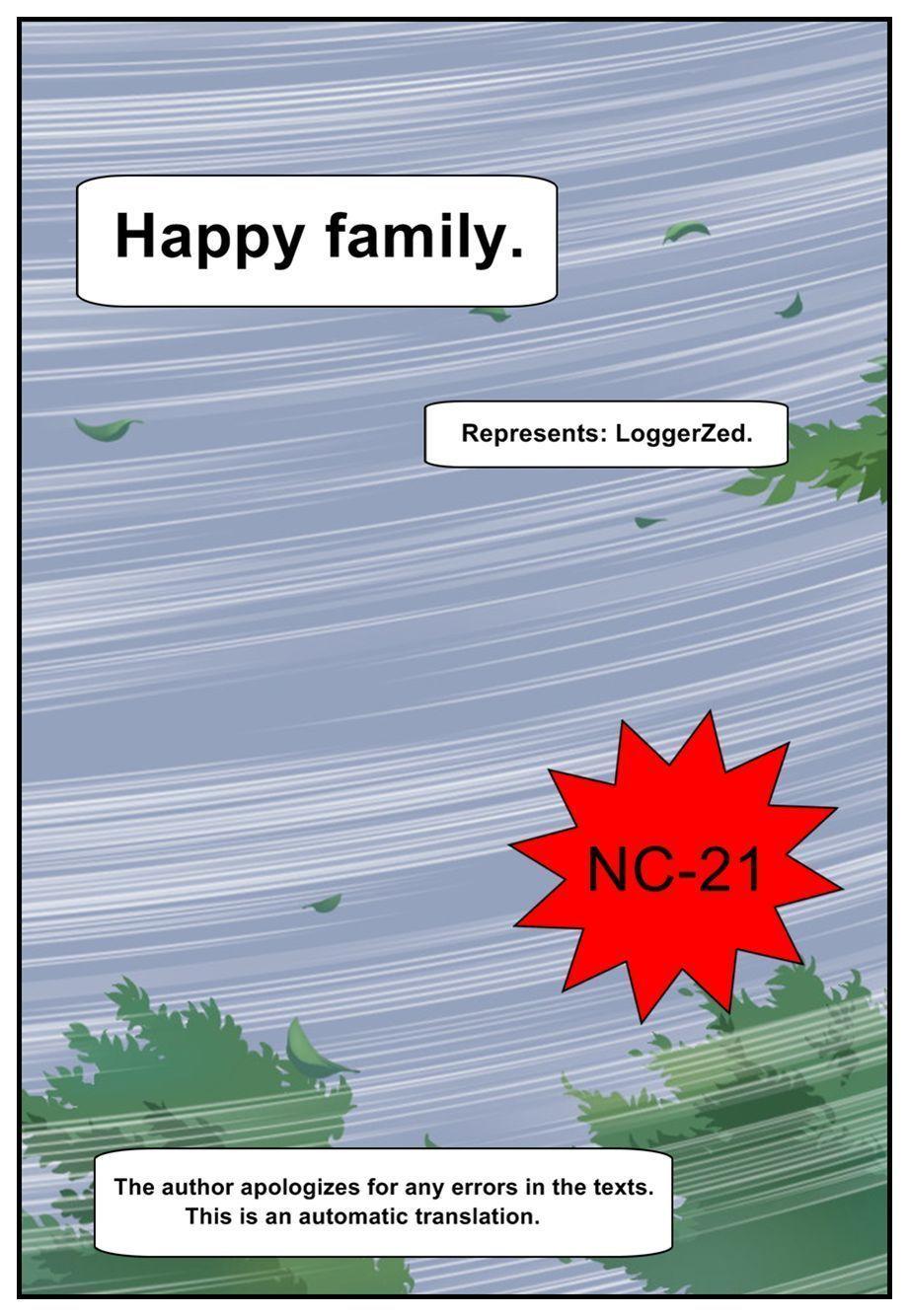Happy Family by loggerzed