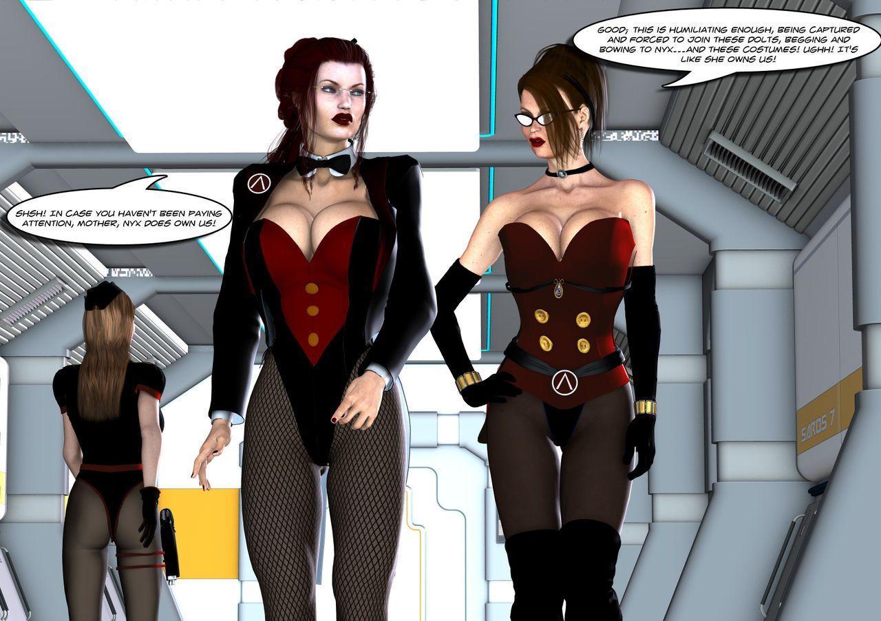 [Uroboros] Legion Of Superheroines 29 - 46 - part 14