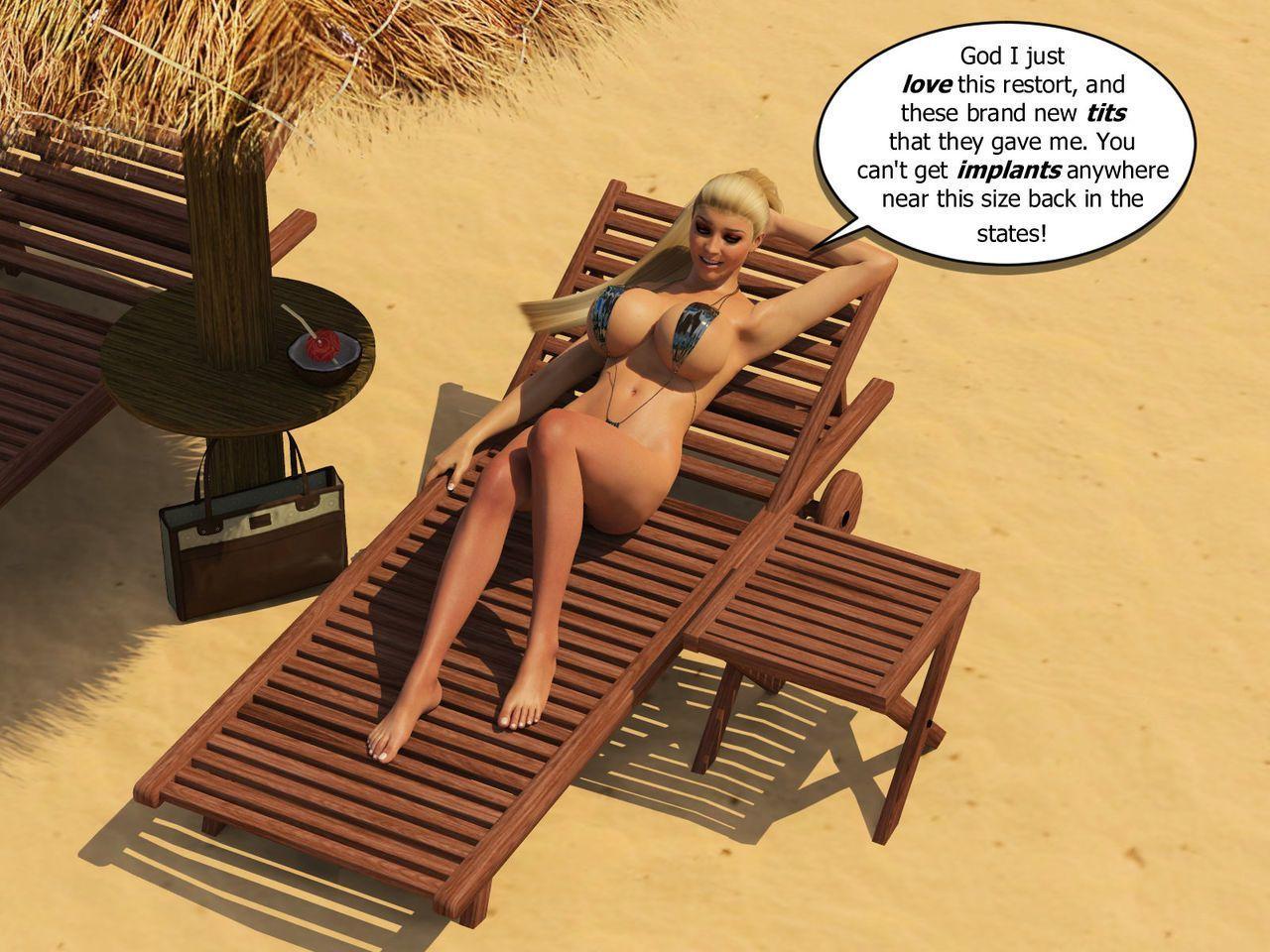 [phoenyxx] Beach Bikini Blow Up Doll