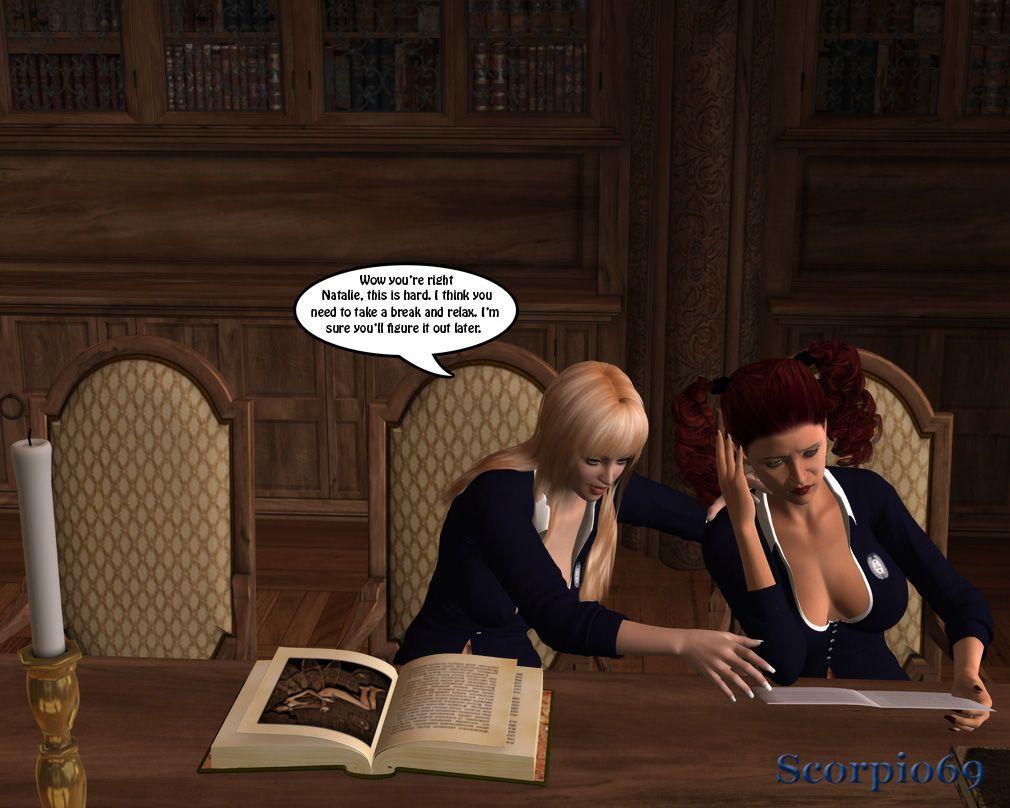 St Anastasia Finishing School- Chap 1: Blu In Peril - part 2