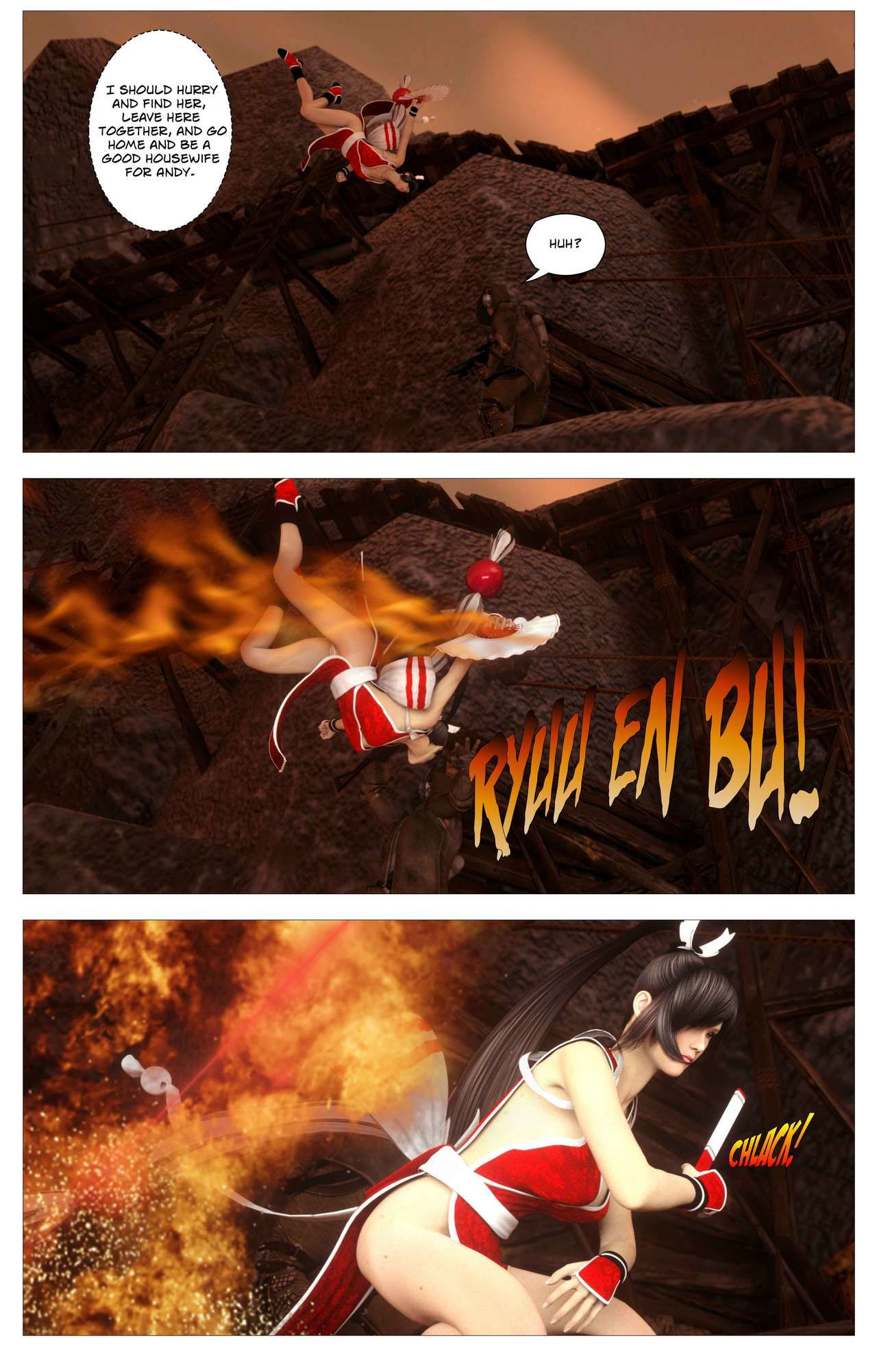 Sin Fighters X - part 2