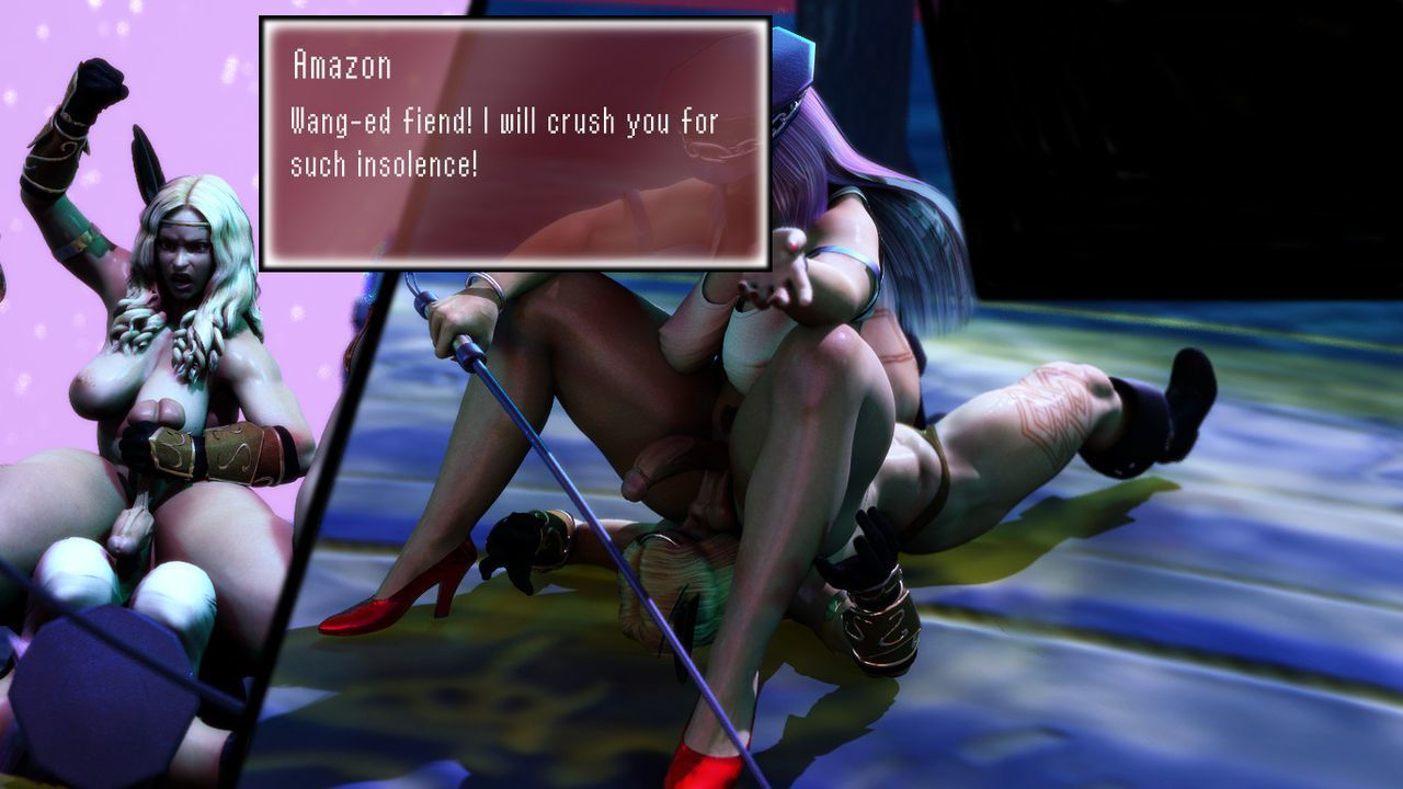[Wicked Works] Hanging Jewels- Crushing Thighs 2 (ongoing) - part 3