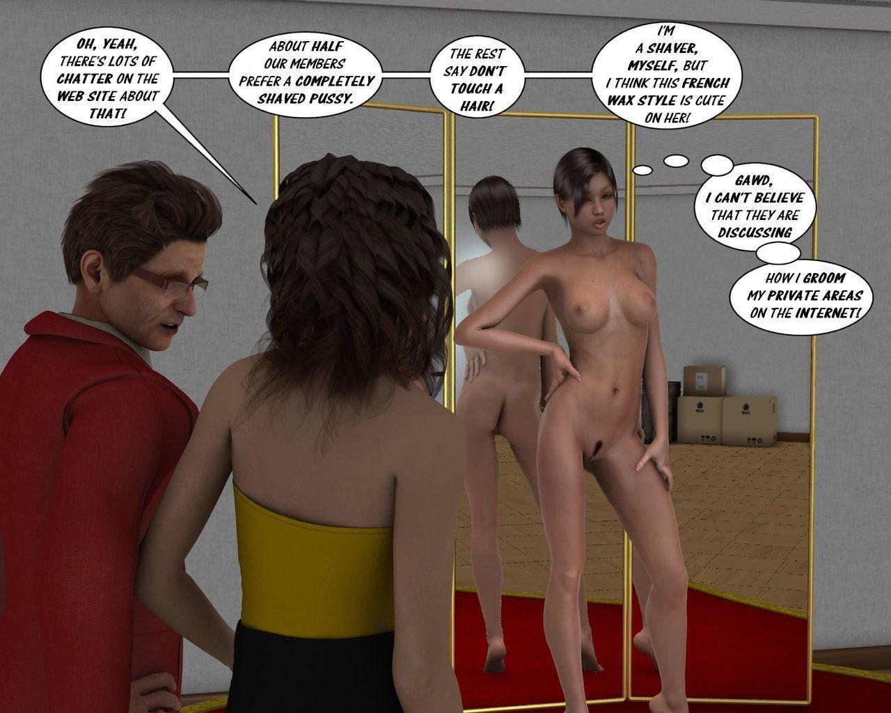[Incipient] Zasie Internet Girl Ch. 4: Dressed To Win - part 2