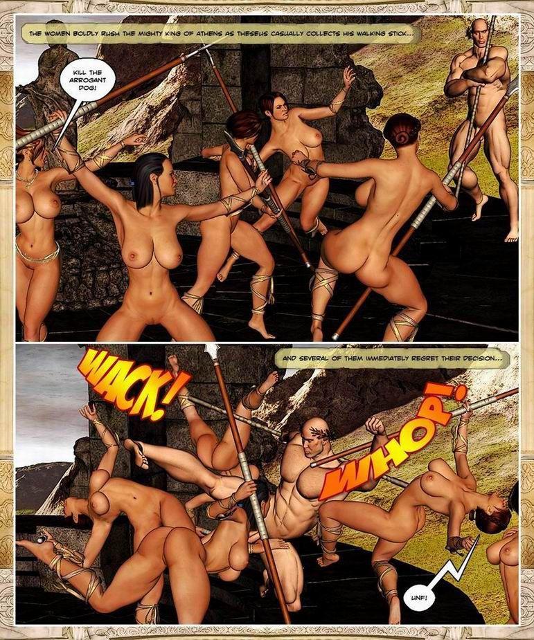 [BarbarianBabes] Hero Chronicles - Theseus