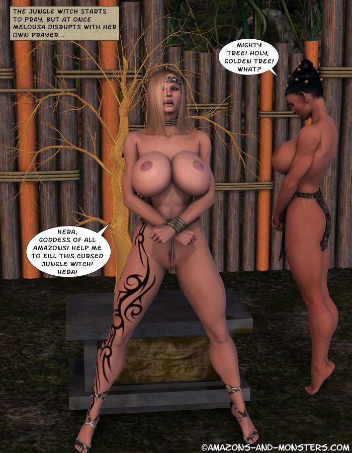 [Amazons & Monsters] Melousa\'s Misadventure - part 3