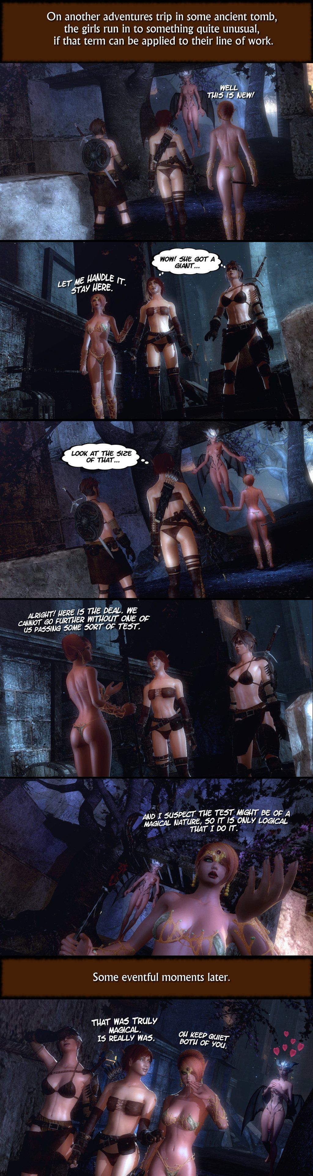 Updated gallery of the works of Rastifan Pt 2 (Comic Shorts) - part 3