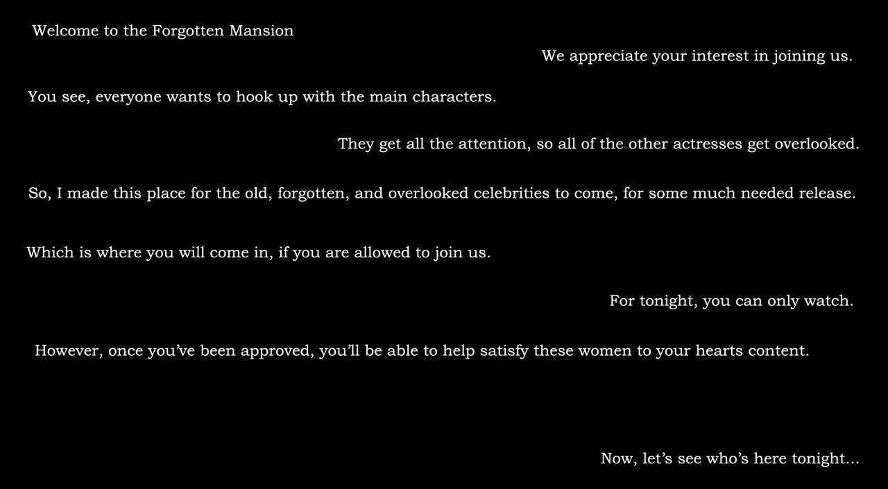The Forgotten Mansion 1