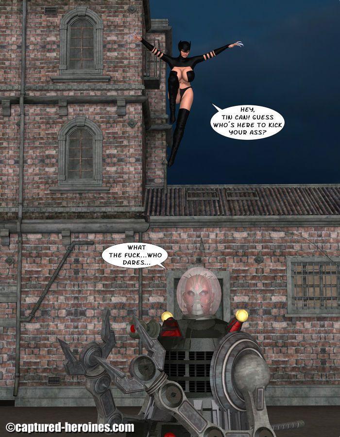 [Captured Heroines] Ninja Squad - Mission Failed - part 7