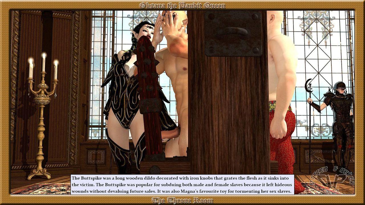 Oksana The Bandit Queen - Part Four - part 3