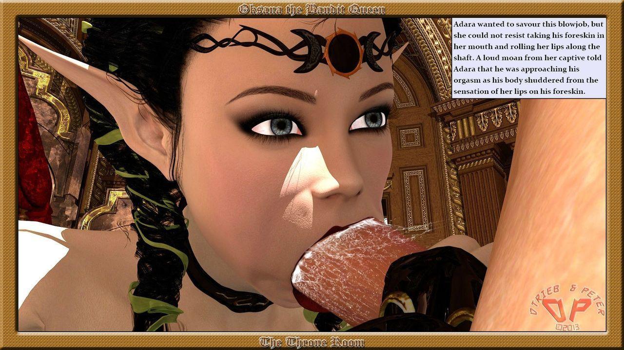 Oksana The Bandit Queen - Part Four - part 6
