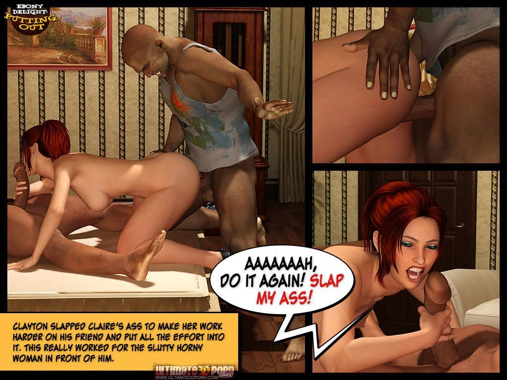 Ebony Delight: Putting Out - part 2