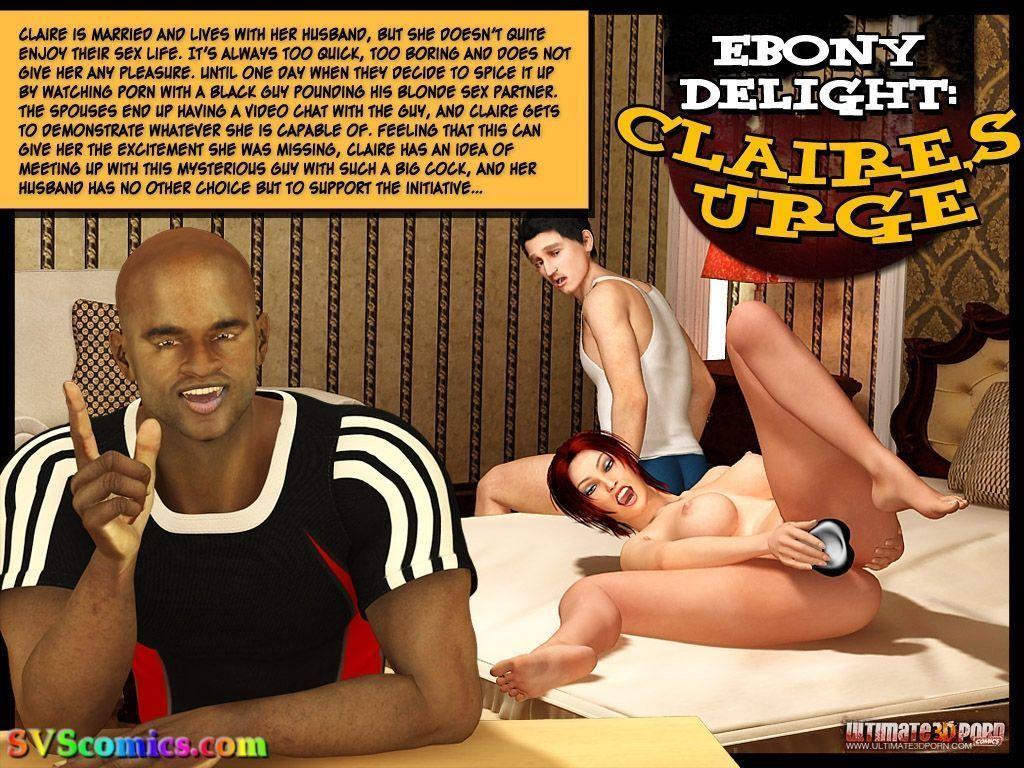 Ebony Delight: Claire\'s Urge