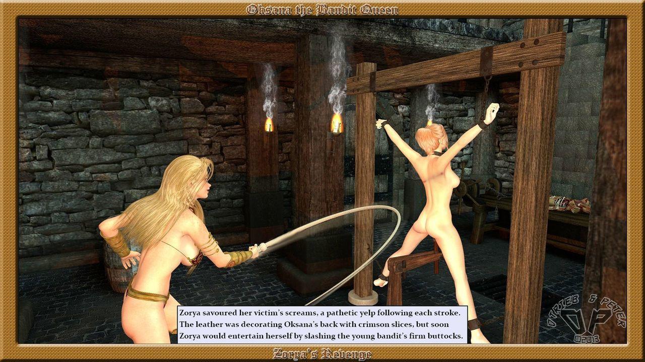 Oksana the Bandit Queen - Part Three - part 2