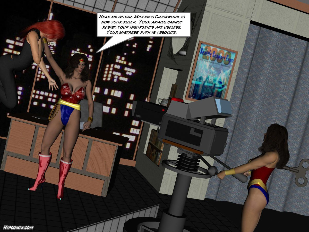 Blunder Woman (rise of Blunder Girl 9-10) Hipcomix