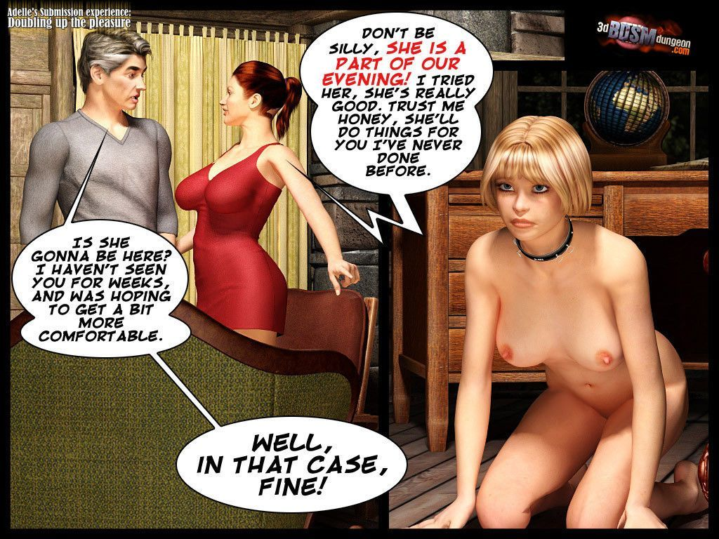 [3D BDSM Dungeon] Adelle\'s submission - Doubling Up the Pleasure