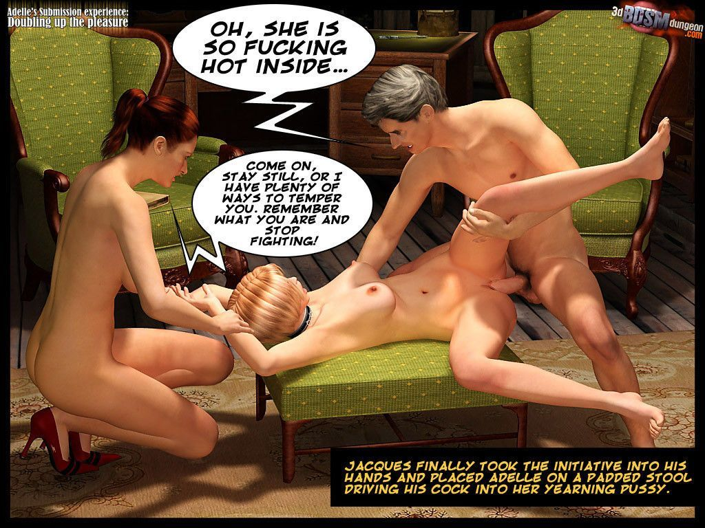 [3D BDSM Dungeon] Adelle\'s submission - Doubling Up the Pleasure - part 2