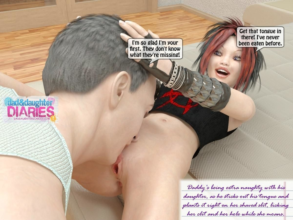 Dad Daughter Diaries - Jerk Off - part 2