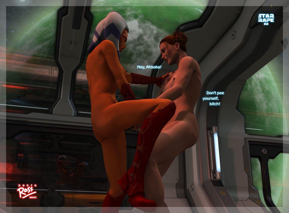 [Darth Ross] Star Rape (Star Wars) - part 4