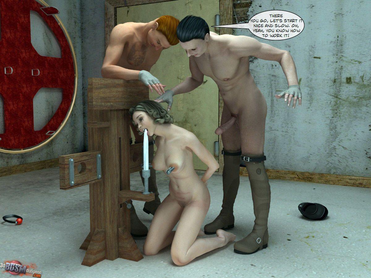 [3D BDSM Dungeon] The Basement Mystery - part 2