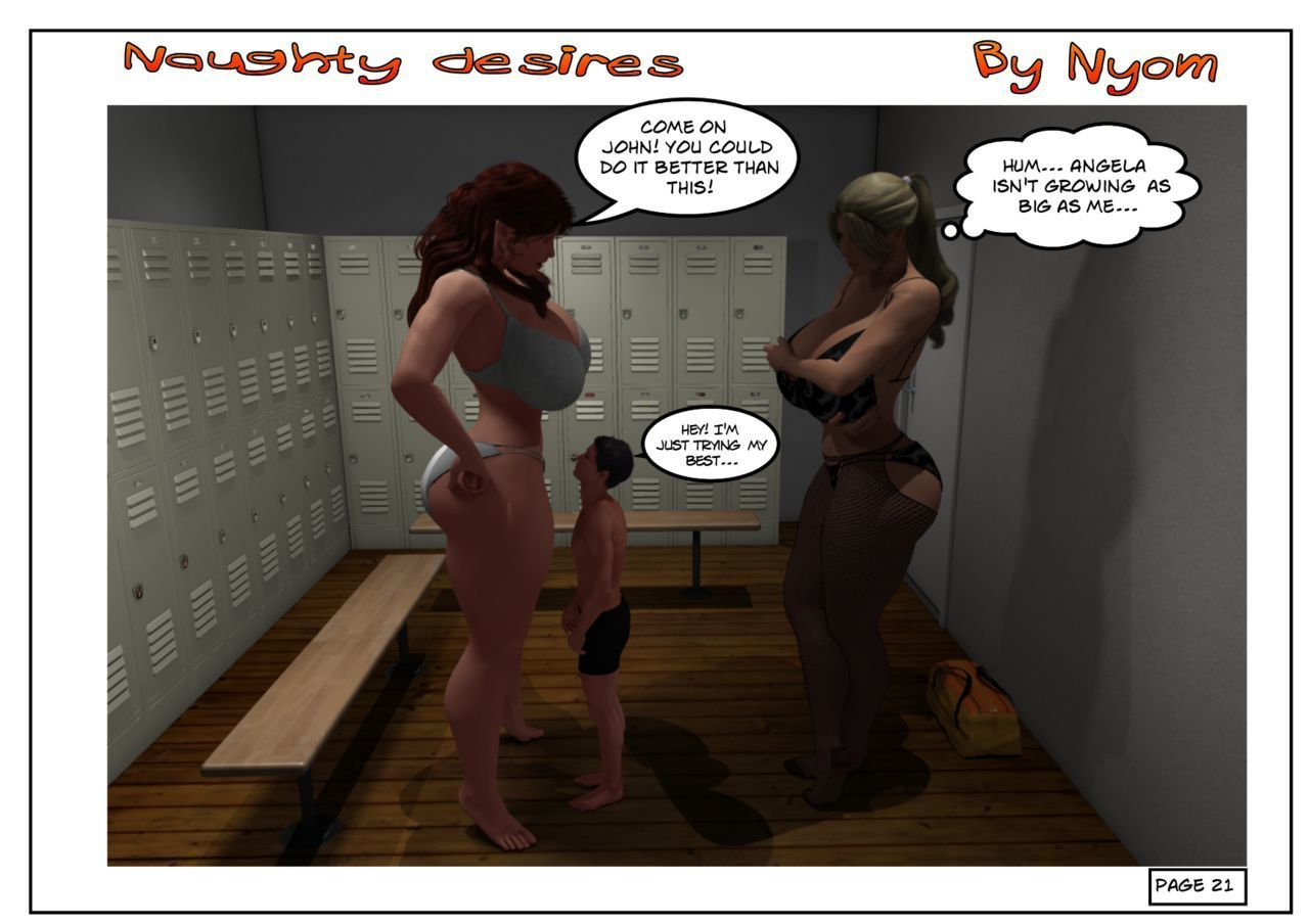 Naughty Desires - part 2
