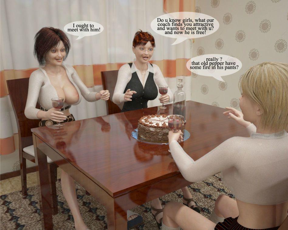 3D Futanari and DickGirls - Happy Birthday Darling
