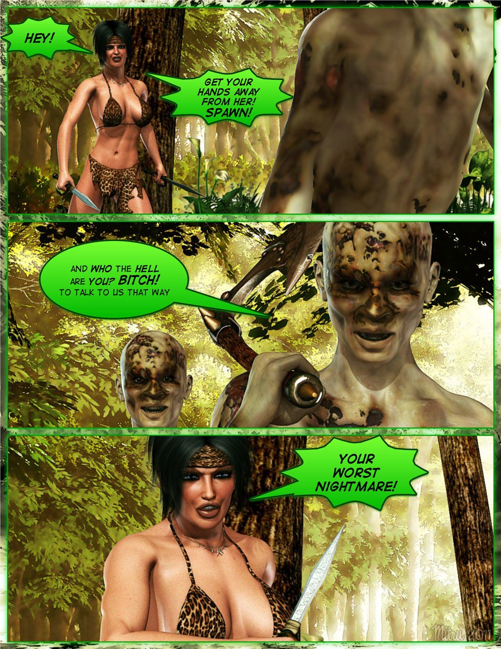 Dada The Jungle Babe - part 15