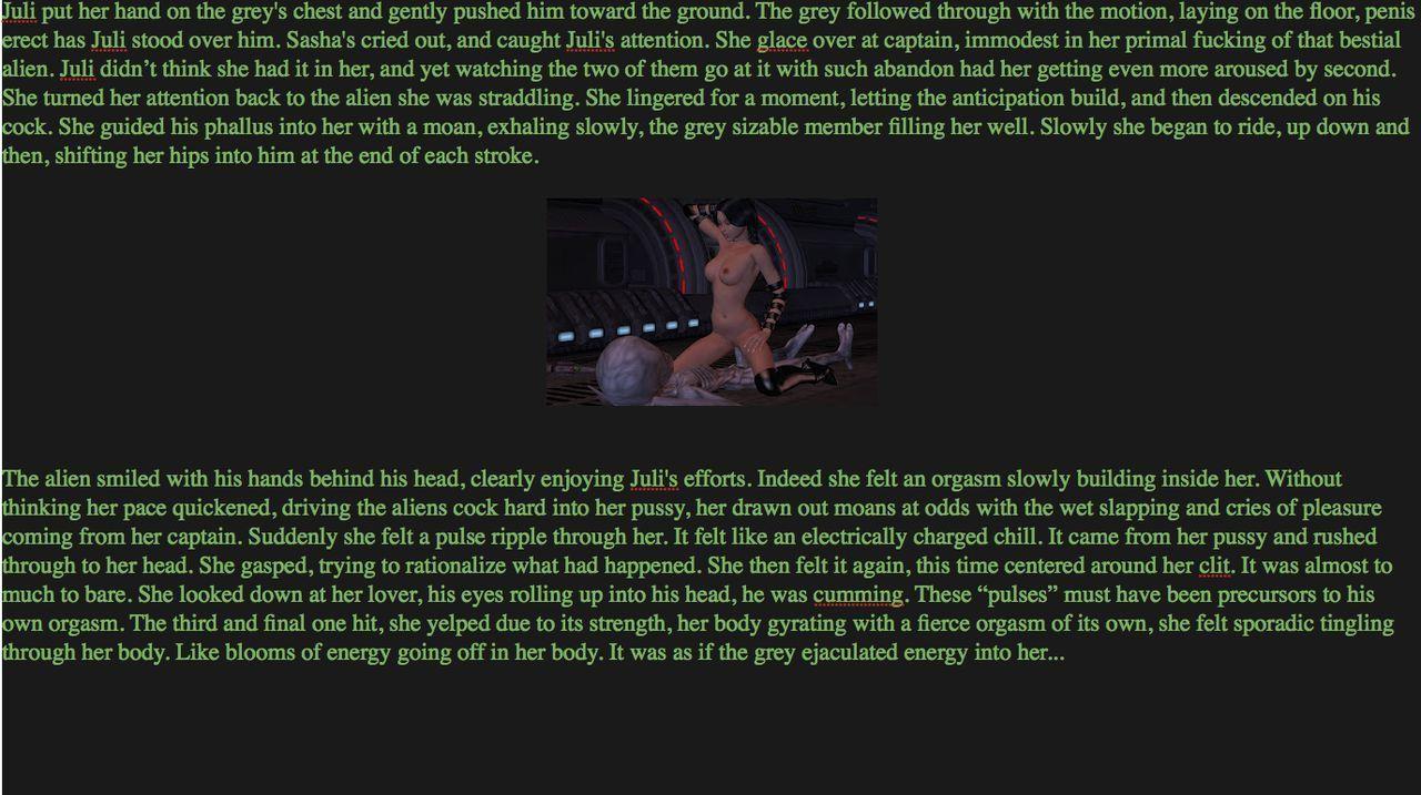 [Dizzydills] Dizzy Interspecies Sex Story Part 7 (Sasha and Juli gangbang) Pics and Written Story