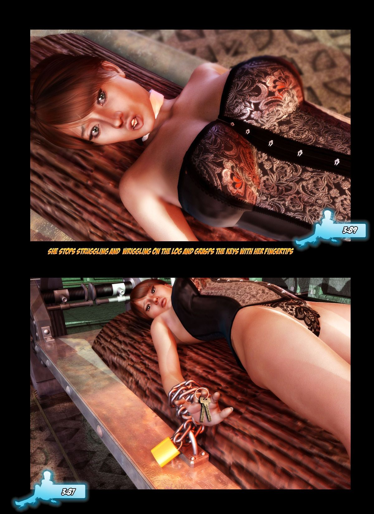 Carey Queen of Escapology - Red Menace - part 2