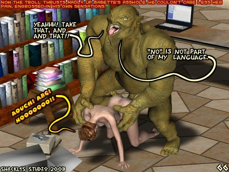 Babette the Overbooked Librarian - part 4