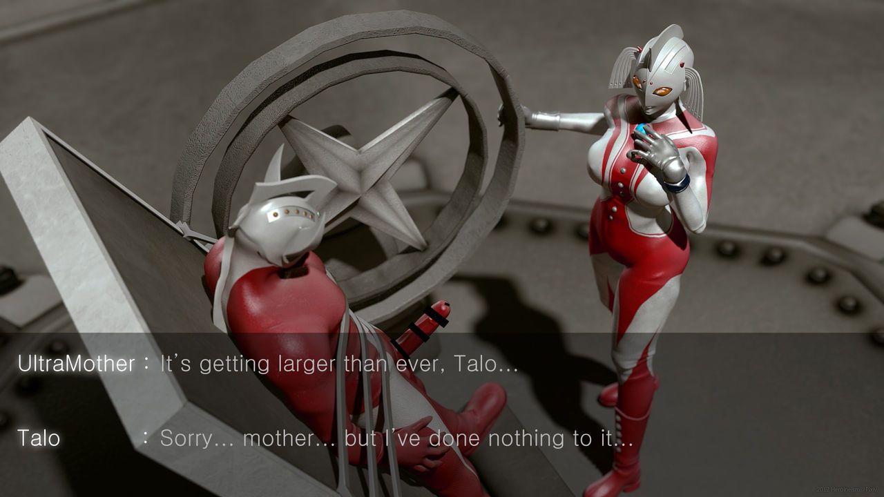 [Heroineism] Chou Hentai Ultra Boshi (Ultraman) - part 3