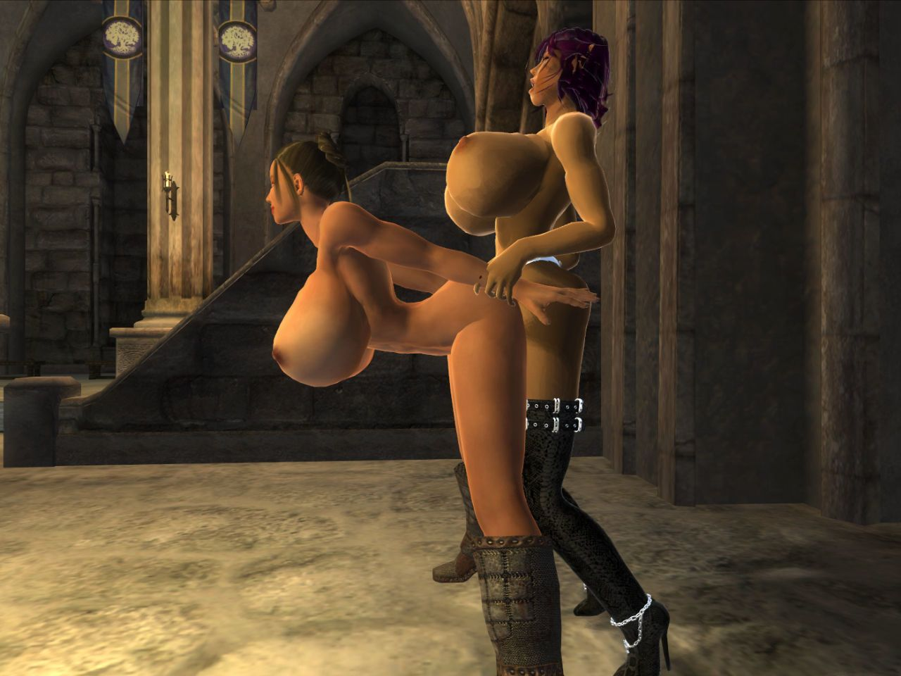 [Chaisy] Oblivion Strap-on Sex (The Elder Scrolls: Oblivion) - part 2