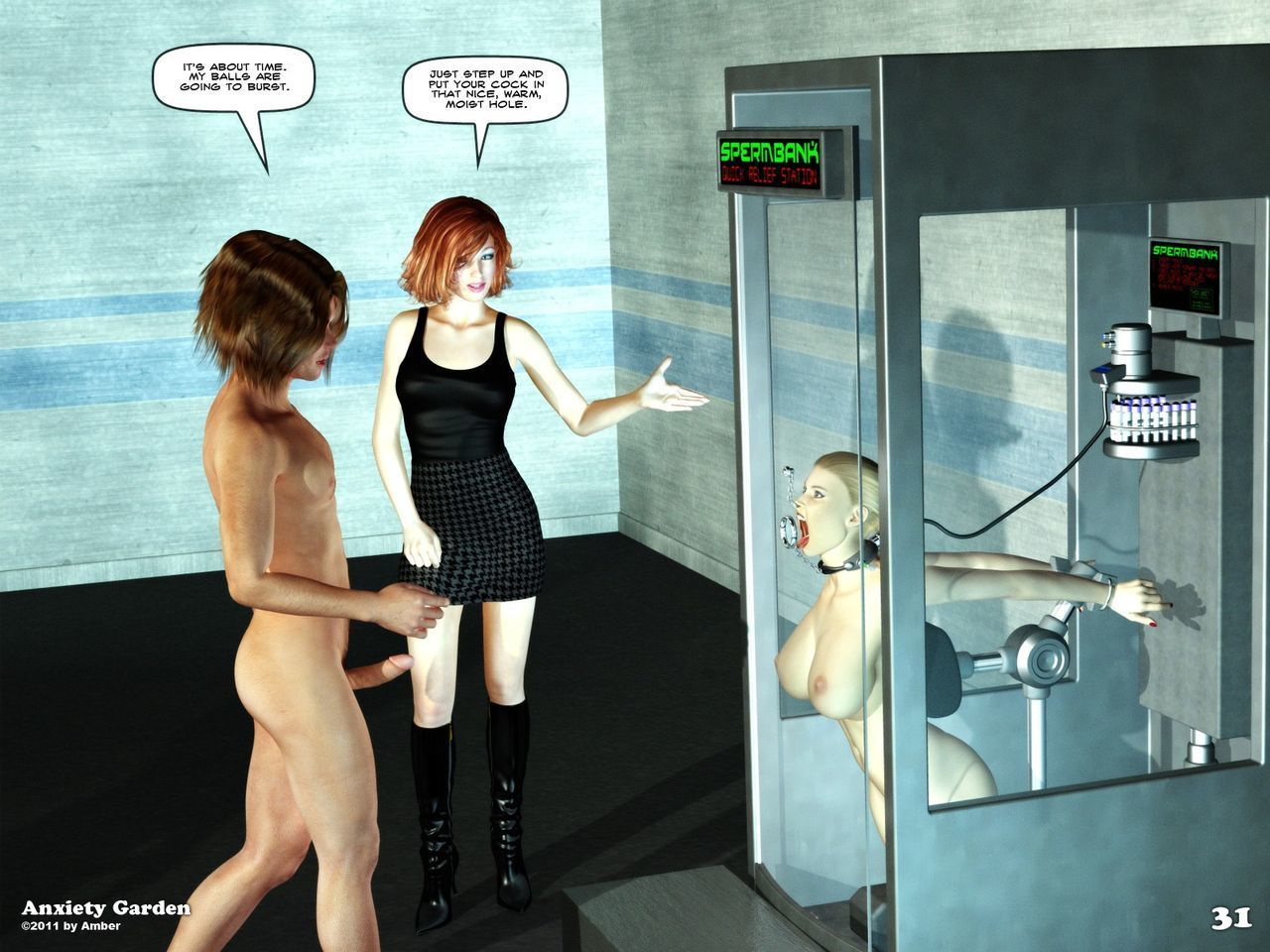 The Sperm Collector - part 2