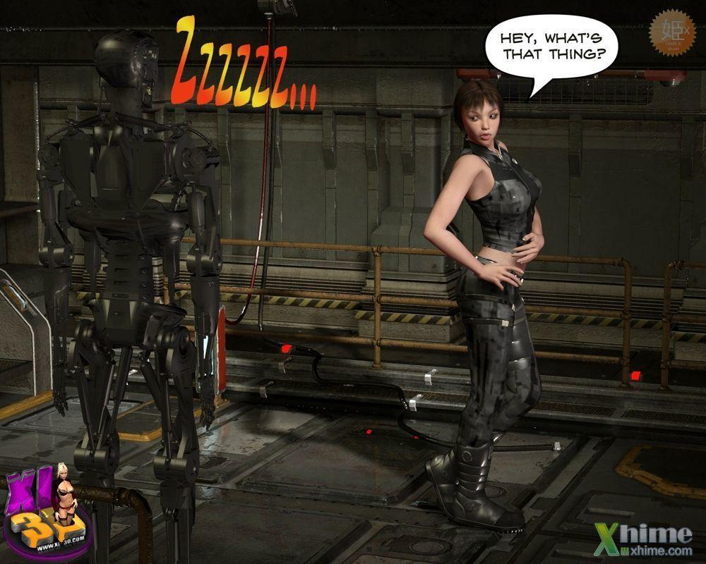 Love Terminator 3D