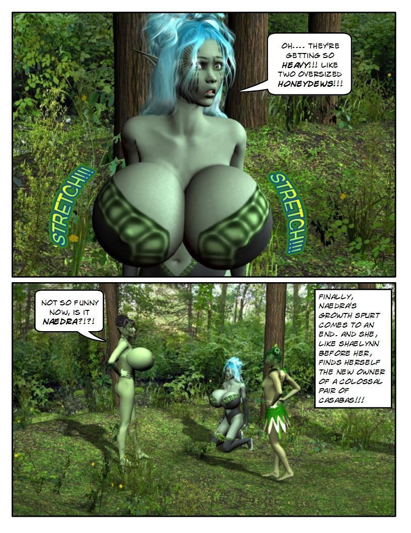 [StrongAndStacked] B.E. Dryads