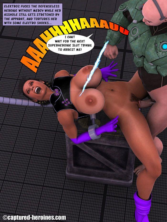 Justice Ninja vs. Electroz - part 2