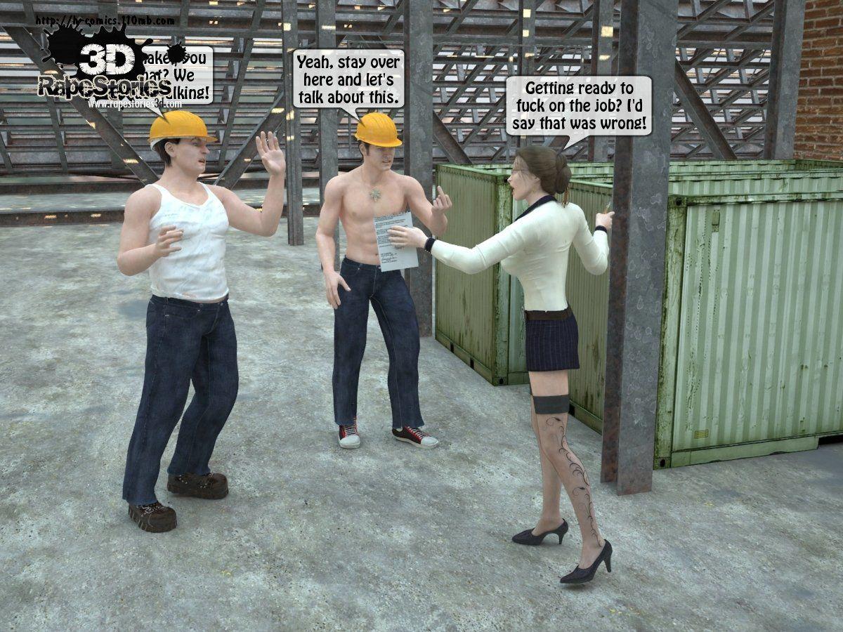 3d Rape Story 1
